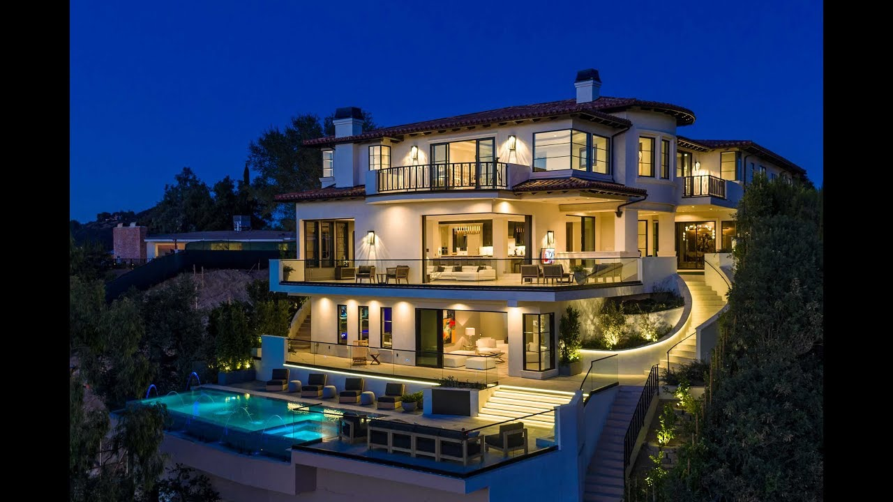 Spectacular luxury mansion in bel air los angeles ca usa
