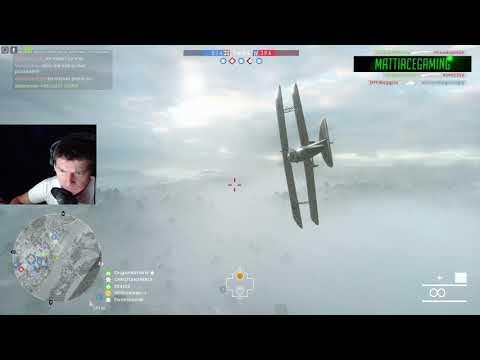 Battlefield 1 - 12 mim attack plane run Ballroom blitz