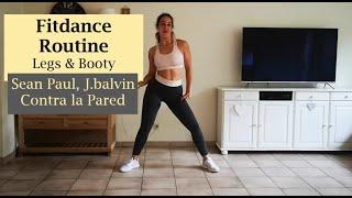 Fitdance Routine Legs & Booty - Sean Paul, J.Balvin Contra la Pared
