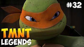 Черепашки-Ниндзя: Легенды. Прохождение #32 (TMNT Legends IOS Gameplay 2016)