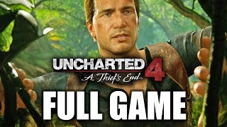 Uncharted 4 Gameplay Walkthrough Part 1 Full Game Story Let's Play Review!