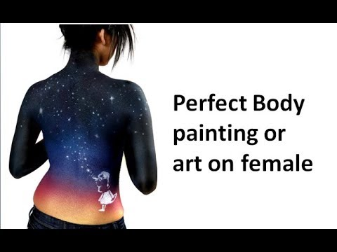 Perfect Body Painting or Art on Female
