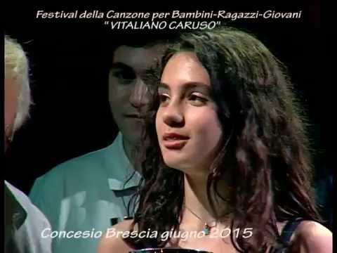 Festival della Canzone per bambini Ragazzi Giovani VITALIANO CARUSO Premiazioni 2015