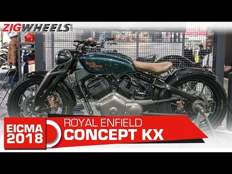Royal Enfield Concept KX | Is This Production Worthy? | EICMA 2018