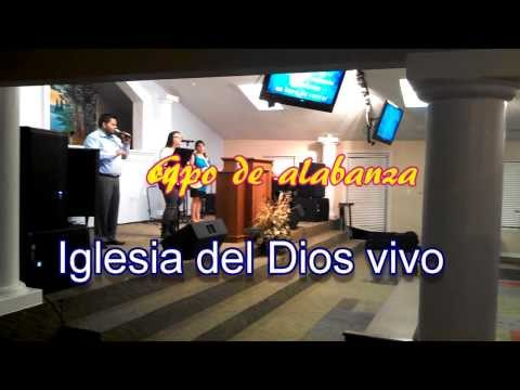Iglesia Cristiana en Odessa Tx Iglesia del Dios Vivo   Grupo de Alabanza  2
