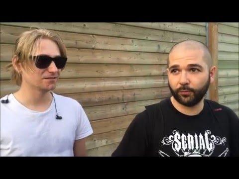 The Algorithm Interview Vancouver, Canada May 14 2016 w/ RockAndMetalNewz