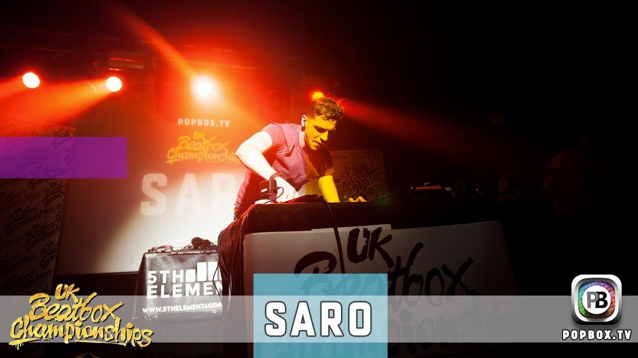 Saro - Piege   Live at 2017 UK Beatbox Championships