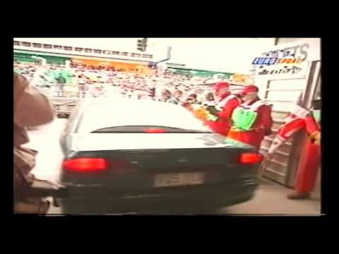 Michael Schumacher Drives a Holden Commodore at Adelaide F1 Grand Prix
