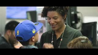Women at McDonald's: Kiana Webb