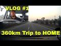 VLOG #1 || 360km Trip to HOME || DESI DRIVING SCHOOL