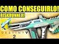 Destiny 2 Beta: COMO CONSEGUIR EL EXÓTICO - RISKRUNNER! FÁCIL!