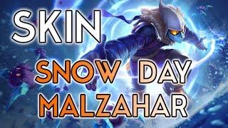 Snow Day Malzahar Skin Spotlight - [LOL PBE] - Snowdown en approche ! - League Of Legends