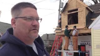 West Shore Students Build Lakewood Garage