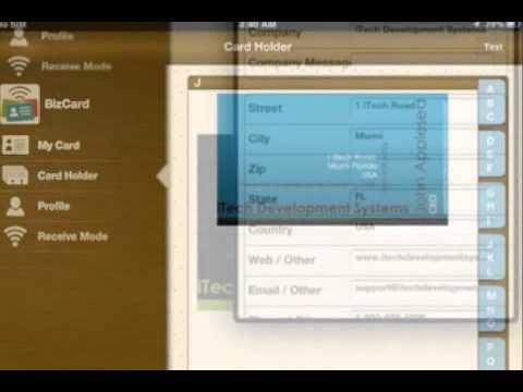 Bizcard for iphone ipad sharing and virtual business card holder bizcard for iphone ipad sharing and virtual business card holder reheart Images
