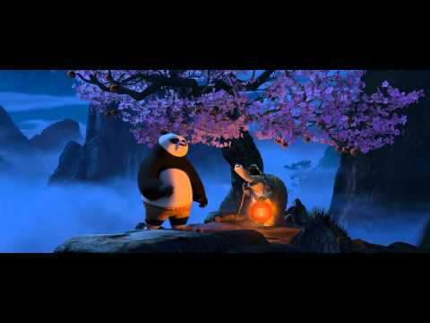 Master Oogway's conversation with Po.