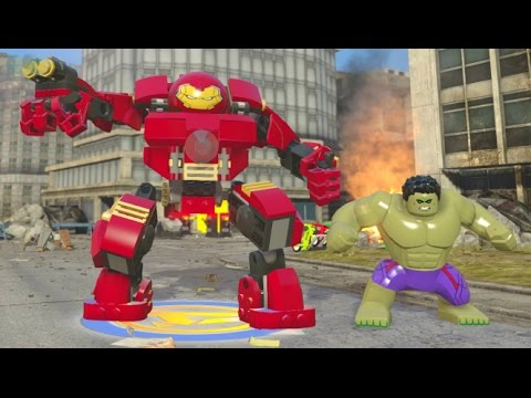 LEGO Marvel's Avengers - A Look at All Playable Characters (All Characters Unlocked - Main Game)