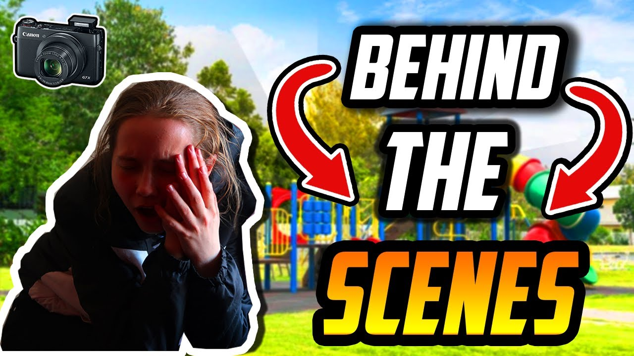 BEHIND THE SCENES!! (Not Rich Now Music Video)