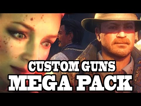 CUSTOM GUNS MEGA PACK IN ZOMBIES! 70+ IN MYSTERY BOX! Call of Duty Black Ops 3 Mod Gameplay