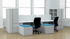 Waveworks Desks from National Office Furniture