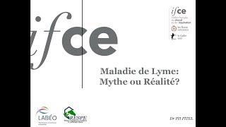 Maladie de Lyme : mythe ou réalité - Pierre-Hugues PITEL