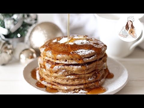 Gingerbread Pancakes Recipe   Christmas Recipes