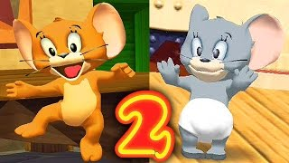 Tom and Jerry War of the Whiskers / Jerry and Nibbles Team 2 / Cartoon Games Kids TV