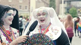 Perthshire Pride 2019 - Interview with Sister Holly