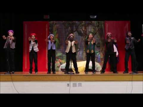 SNOW WHITE performance PART 3 Fairfield Magnet School for Math and Science