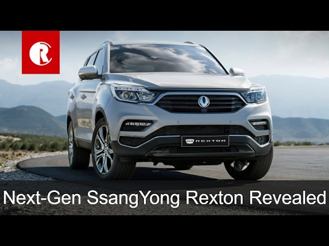 2017 SsangYong Rexton Image Revealed; to be launched in India as flagship SUV under Mahindra badge