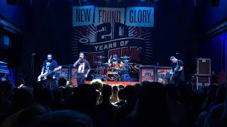 New Found Glory Right Where We Left Off Live 7-18-17 Mercury Ballroom Louisville KY