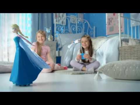 Disney Frozen Remote Control Skating Elsa Doll Youtube