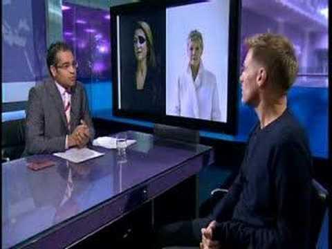 Channel 4 interview met Bryan Adams