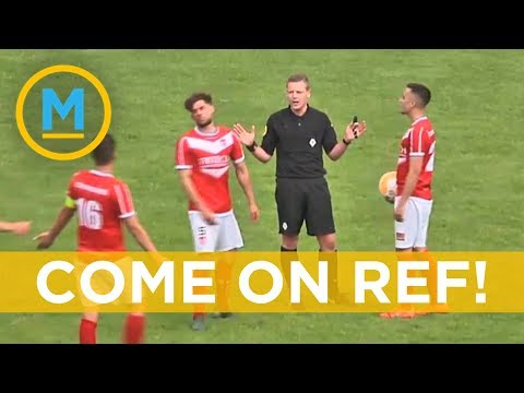 This Referee Scored A Goal In A Soccer Match And It Counted | Your Morning
