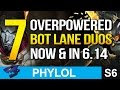 7 Overpowered BOT LANE DUOS now and in Patch 6.14 (League of Legends)