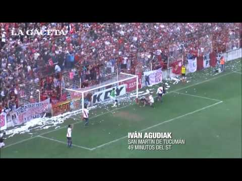 San Martín 2-1 Guaraní. (Relato Jorge Rodriguez - Radio Metropolitana Tucuman) Gol de Agudiak