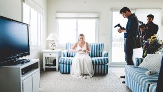 Wedding Filmmaking Behind the Scenes - Martha and Alan