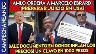 ¡MÉXICO INICIA ACCIONES LEGALES EN USA! MARCELO EBRARD Y AMLO