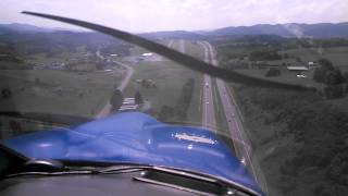 Piper Cherokee Landing Mountain Empire KMKJ