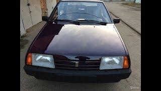 новый автомобиль Пробег: 2000 км,стоит на колодках ВАЗ 21099, 1998