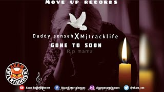 Daddy Senseh Ft. Mj Tracklife - Gone Too Soon [Audio Visualizer]