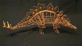 Stegosaurus Wire Sculpture
