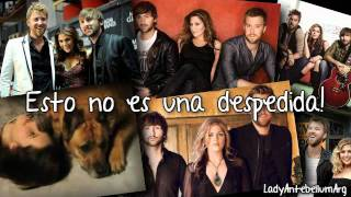 Never Alone - Lady Antebellum - Español