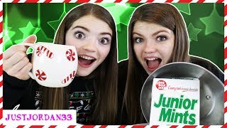 Hot Chocolate Vs Real Food Switch Up Challenge  JustJordan33