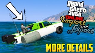 GTA Online: Import/Export DLC - Potential New Release Date, Why No Trailer & More Info!