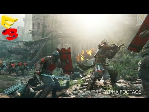For Honor Multiplayer Gameplay Trailer - E3 2015 - Medieval Sword Fighting Warfare Game (2016)