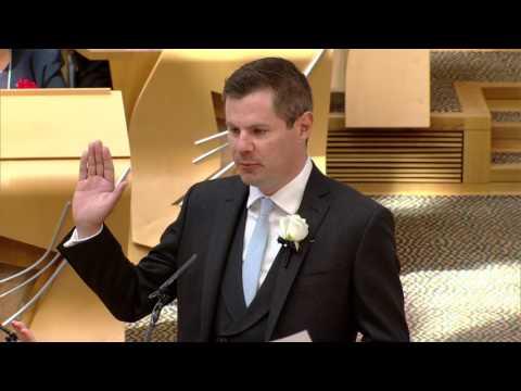 Derek Mackay MSP Members' Oath