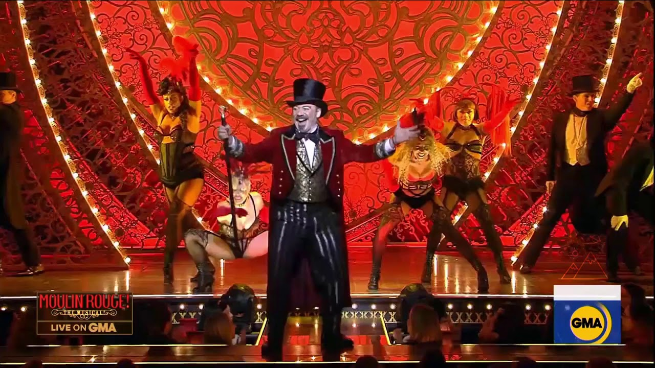 Moulin Rouge The Musical Performs On Gma Youtube