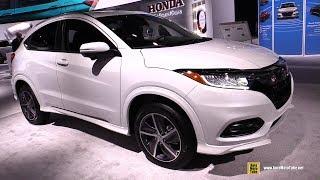 2019 Honda HRV Touring AWD - Exterior and Interior Walkaround - 2019 Detroit Auto Show