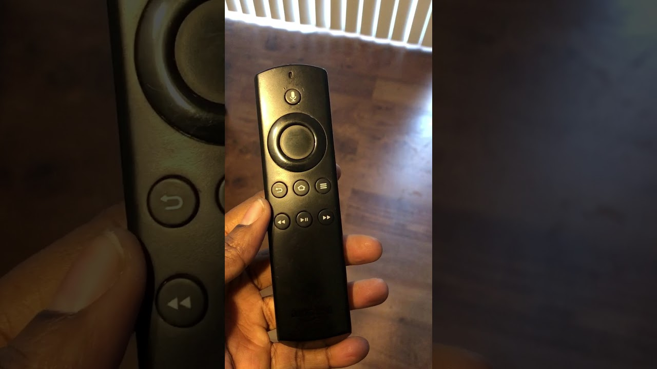 Fire Stick Alexa How To Open Your Amazon Firestick Tv Remote Control - Youtube