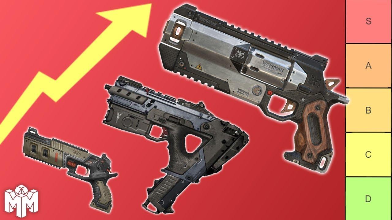 The Apex Legends Weapons Tier List